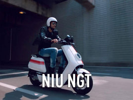Niu NGT sahkoskootteri -video